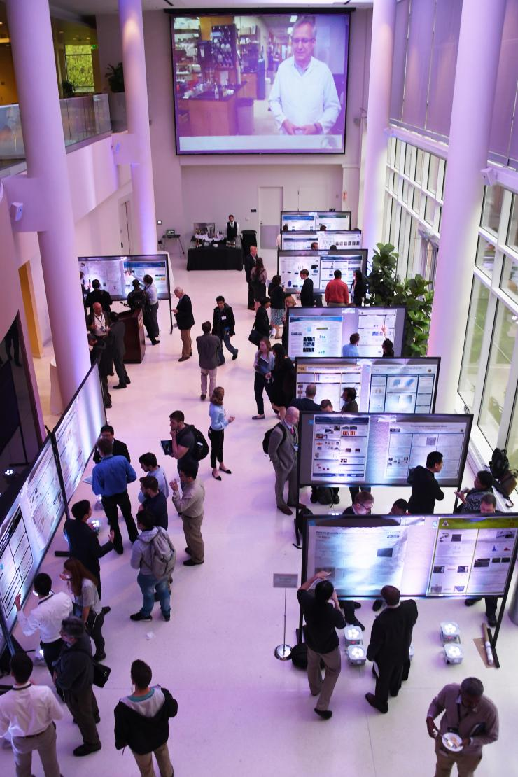 2017 RBI Poster Competition evening reception