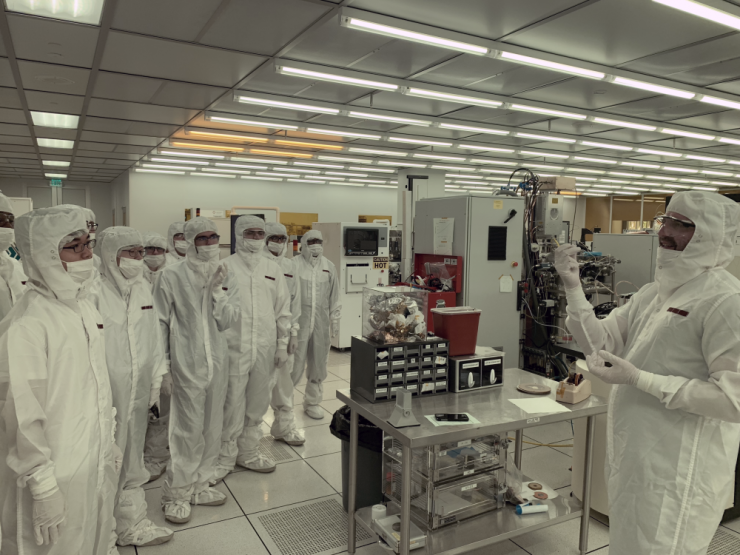 GSMST in Cleanroom