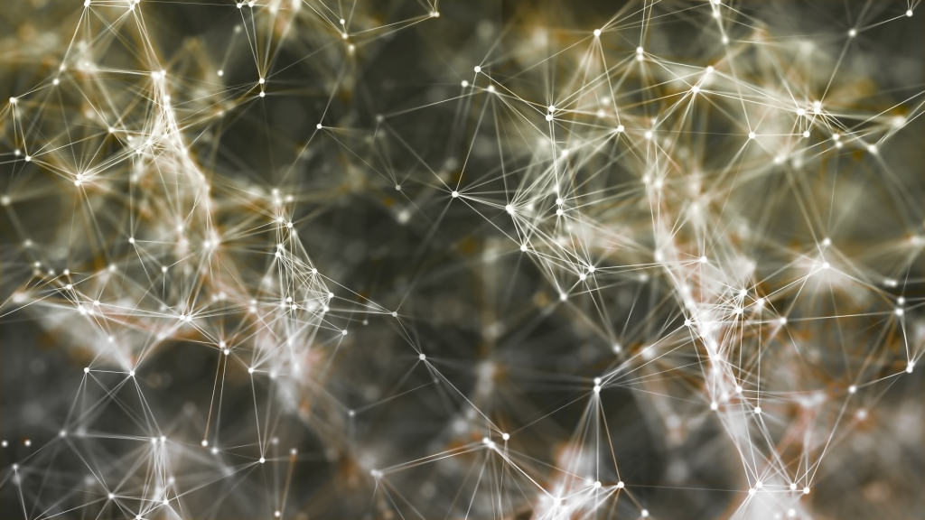 Stock Image of a Network